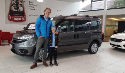 Übernahme Erdgas Fiat Doblo an Familie Draxl