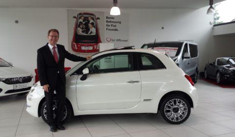 Fiat 500 Fan Thomas Spielmann