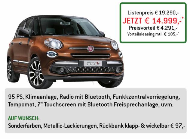Fiat 500L Lüftner Edition