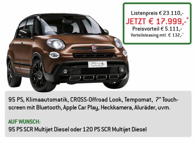 Fiat 500L Sport Lüftner Edition