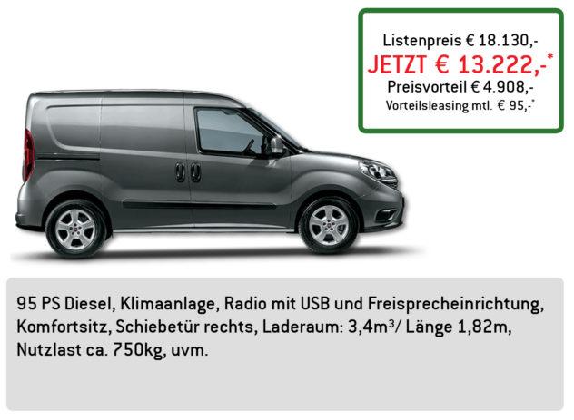 Fiat Doblo Cargo Lüftner Edition