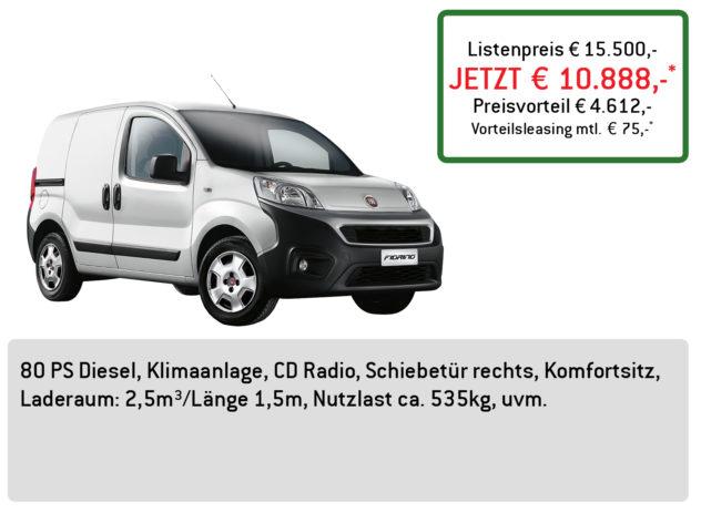 Fiat Fiorino Lüftner Edition