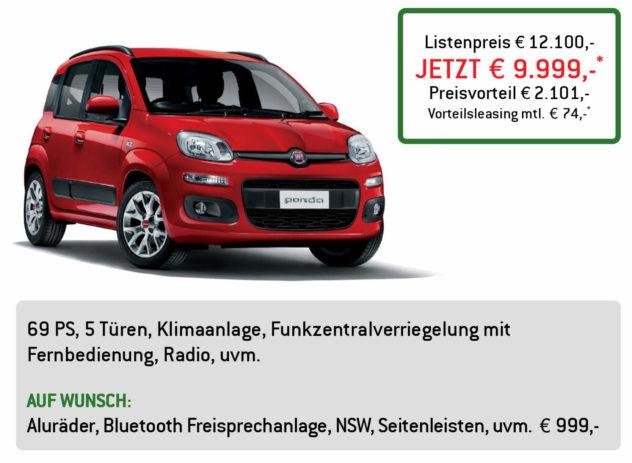 Fiat Panda Lüftner Edition