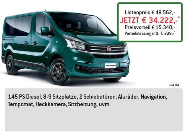 Fiat Talento Bus Lüftner Edition