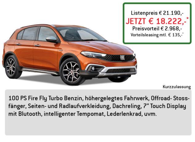 FIAT Tipo City Cross Lüftner Edition