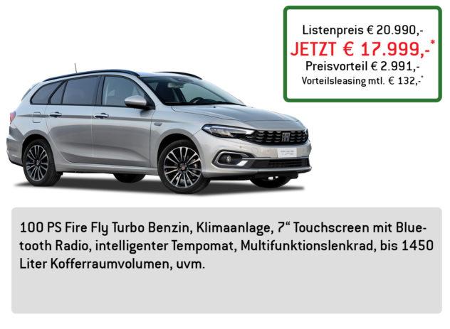FIAT Tipo Kombi Lüftner Edition
