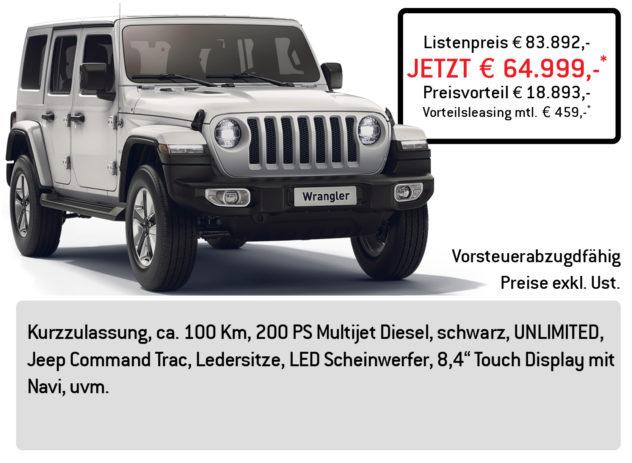 Jeep Wrangler 4x4 Lüftner Edition